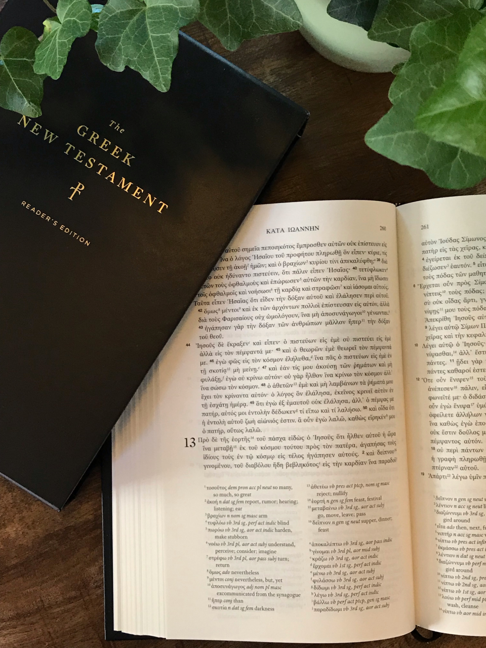 Tyndale House Greek New Testament Reader's Edition Helps Pastors Study Scripture in Greek